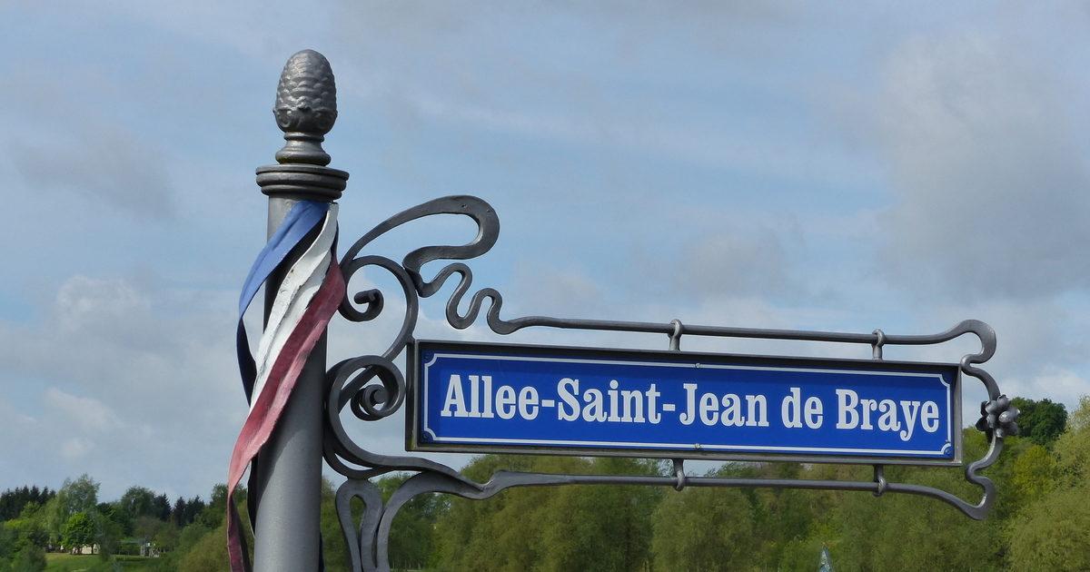 Plaque de l'Allée Saint-Jean de Braye à Pfullendorf
